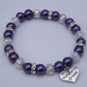 Mother Of The Groom Bracelet - Sparkle & Bling Style